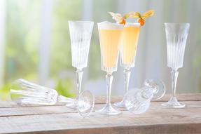 RCR 25874020006 Timeless Crystal Glassware Timeless Champagne Flutes Glasses, Set of 6 Thumbnail 4