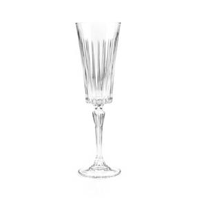 RCR 25874020006 Timeless Crystal Glassware Timeless Champagne Flutes Glasses, Set of 6 Thumbnail 7