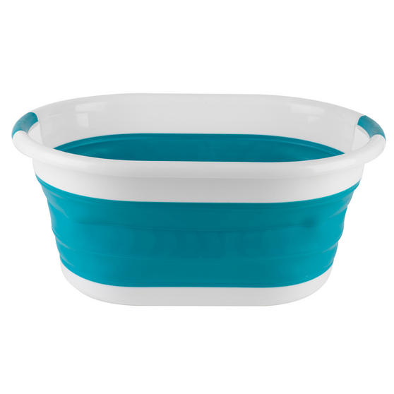 Beldray Turquoise Collapsible Laundry Washing Basket with 20 XL Soft Grip Pegs Thumbnail 5