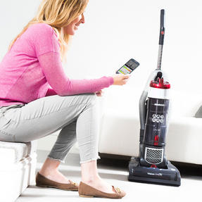 Hoover VR81OF01 Vision One Smartphone Pairable Bagless Upright Vacuum, 850 W Thumbnail 2
