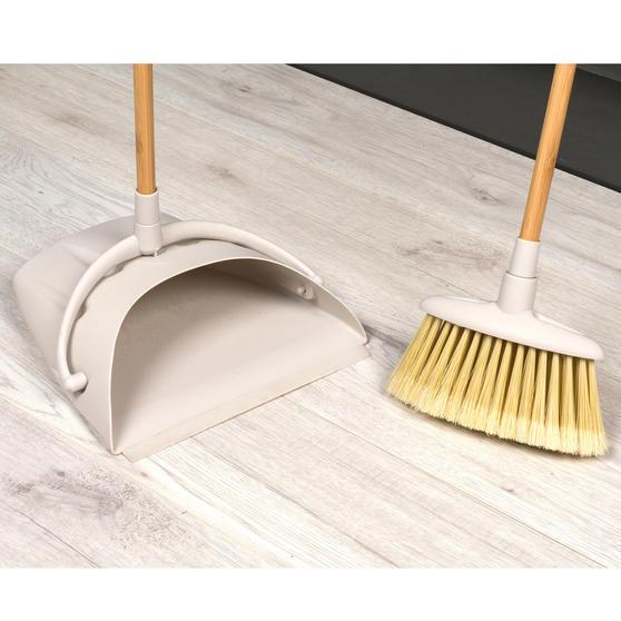 Beldray Long Handled Dustpan and Brush Set, Bamboo Thumbnail 8