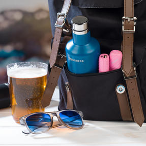 Festival / Picnic Pack COMBO-3060 with LED BT Capsule Speaker, Pink Power Banks, Travel Cup and Insulated Bottle Thumbnail 6