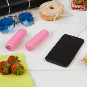 Festival / Picnic Pack COMBO-3060 with LED BT Capsule Speaker, Pink Power Banks, Travel Cup and Insulated Bottle Thumbnail 8
