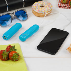 Festival / Picnic Pack COMBO-3061 with LED BT Capsule Speaker, Blue Power Banks, Travel Cup and Insulated Bottle Thumbnail 8