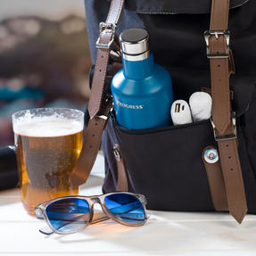 Festival / Picnic Pack COMBO-3062 with LED BT Capsule Speaker, White Power Banks, Travel Cup and Insulated Bottle Thumbnail 6