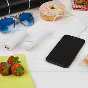 Festival / Picnic Pack COMBO-3062 with LED BT Capsule Speaker, White Power Banks, Travel Cup and Insulated Bottle Thumbnail 8