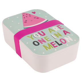 Cambridge CM06270 One in a Melon Reusable On-The-Go Lunch Box Thumbnail 1