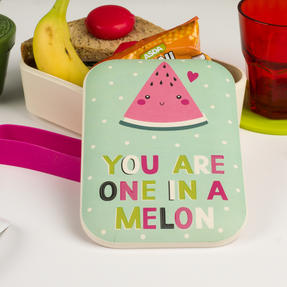 Cambridge CM06270 One in a Melon Reusable On-The-Go Lunch Box Thumbnail 6