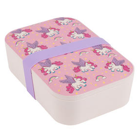Cambridge CM06274 Flying Unicorns Bamboo Eco Lunch Box