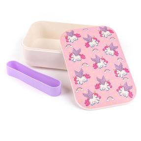 Cambridge CM06274 Flying Unicorns Reusable On-The-Go Lunch Box Thumbnail 2