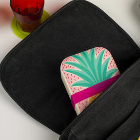 Cambridge CM06269 Hello Lovely Pineapple Reusable On-The-Go Lunch Box Thumbnail 2