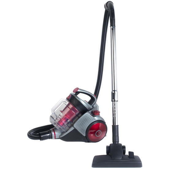 Beldray Ultra Quiet Multi Cyclonic Pet+ 2.8 L Vacuum Cleaner, Red / Grey