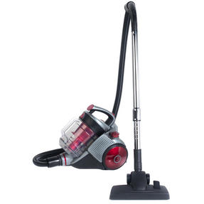 Beldray BEL0555 Ultra Quiet Multi Cyclonic Pet+ 2.8 L Vacuum Cleaner, Red / Grey Thumbnail 1