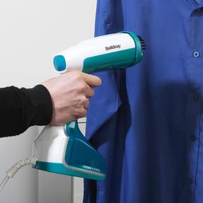 Beldray BEL0815 Portable Handheld Garment Clothing Steamer, 1200 W, Blue / Black Thumbnail 9