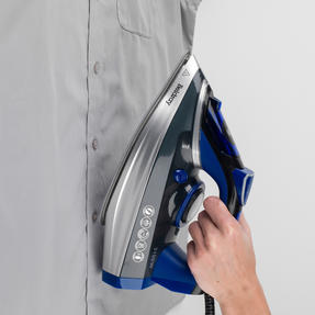 Beldray BEL0820 Ultra Ceramic Steam Iron with Dual Soleplate Technology, 3100 W, 300 ml, Blue/Black Thumbnail 8