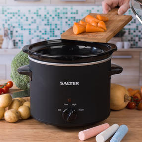 Salter EK2842 Chalkboard Slow Cooker with 6pcs of Chalk Included, 3.5 L, Black Thumbnail 8