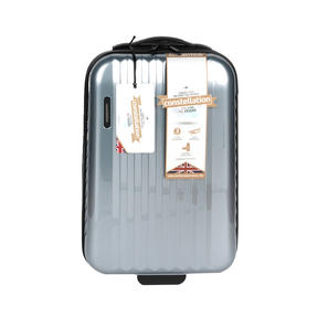 "Constellation Athena ABS Hard Shell Cabin Suitcase, 20"", Silver Thumbnail 2"