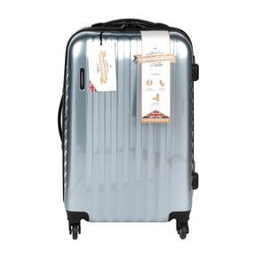 "Constellation LG00571MSILSDMIL Athena 4 Wheel  Suitcase, Silver, 24"""