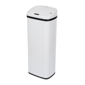 Russell Hobbs BW07125WMOB Square Sensor Bin, 50 Litre, White