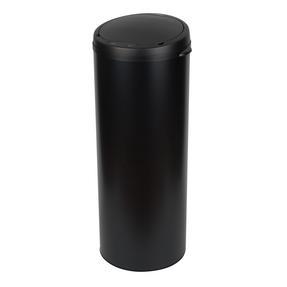 Russell Hobbs BW07127MOB Round Sensor Bin, 50 Litre, Black