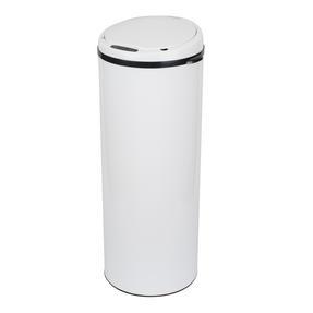 Russell Hobbs BW07127WMOB Round Sensor Bin, 50 Litre, White