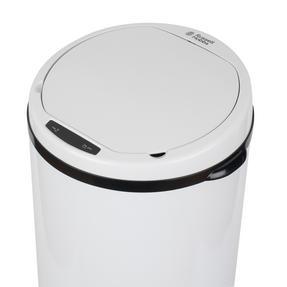 Russell Hobbs BW07127WMOB Round Sensor Bin, 50 Litre, White Thumbnail 8