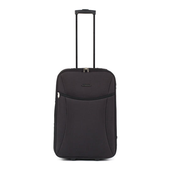 Constellation LG00439MBLKASMIL Medium Eva Suitcase, 24?, Black