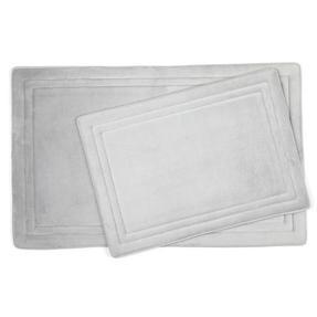 Beldray MFBEL20036CHEUPMIL Memory Foam Bath and Shower Mat Set, Chrome Grey Thumbnail 1