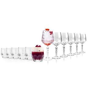 RCR COMBO-2223 Alkemist Crystal Cocktail and Short Tumbler Glasses Set, 12 Piece Thumbnail 2