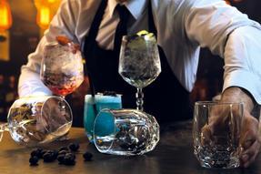 RCR COMBO-2223 Alkemist Crystal Cocktail and Short Tumbler Glasses Set, 12 Piece Thumbnail 3