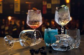 RCR COMBO-2223 Alkemist Crystal Cocktail and Short Tumbler Glasses Set, 12 Piece Thumbnail 4