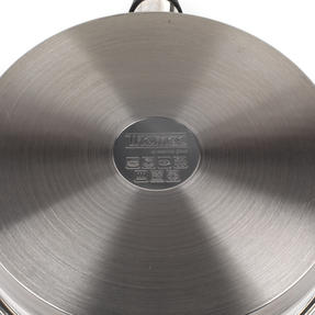 Thomas Rosenthal COMBO-3169 Stainless Steel Cookware Wok and Grill Pan Set Thumbnail 2