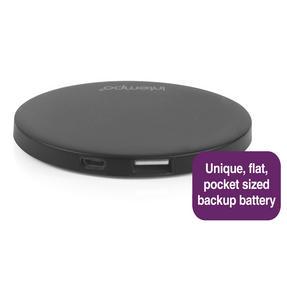 Intempo COMBO-3188 Folding Bluetooth Melody Headphones with Mirror 2000mAh Power Bank, Pink / Black Thumbnail 3