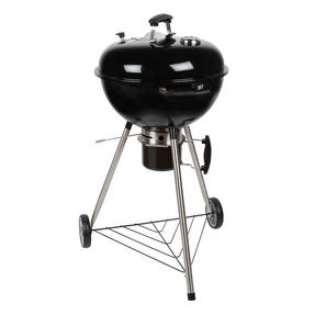 Berndes COMBO-3192 Portable Charcoal Barbeque Grill with Waterproof BBQ Grill Cover Thumbnail 7