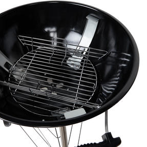 Berndes COMBO-3192 Portable Charcoal Barbeque Grill with Waterproof BBQ Grill Cover Thumbnail 9