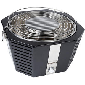 Berndes COMBO-3193 Portable Fan Assisted Smokeless Grill with BBQ Charcoal Starter and Waterproof Grill Cover Thumbnail 8