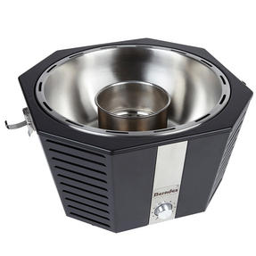 Berndes COMBO-3194 Portable Fan Assisted Smokeless Grill with Pizza Stone and BBQ Charcoal Starter Thumbnail 4