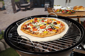 Berndes COMBO-3194 Portable Fan Assisted Smokeless Grill with Pizza Stone and BBQ Charcoal Starter Thumbnail 6