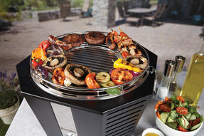Berndes COMBO-3194 Portable Fan Assisted Smokeless Grill with Pizza Stone and BBQ Charcoal Starter Thumbnail 7