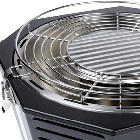 Berndes COMBO-3194 Portable Fan Assisted Smokeless Grill with Pizza Stone and BBQ Charcoal Starter Thumbnail 10