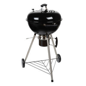 Berndes P501960 BBQ Charcoal Grill, Stainless Steel, 55x54x102 cm Thumbnail 1