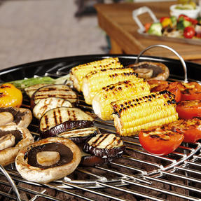 Berndes P501960 BBQ Charcoal Grill, Stainless Steel, 55x54x102 cm Thumbnail 3