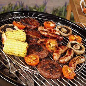 Berndes P501960 BBQ Charcoal Grill, Stainless Steel, 55x54x102 cm Thumbnail 4