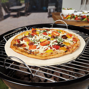 Berndes P502028 BBQ Pizza Stone with Rack Thumbnail 2