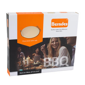 Berndes P502028 BBQ Pizza Stone with Rack Thumbnail 3