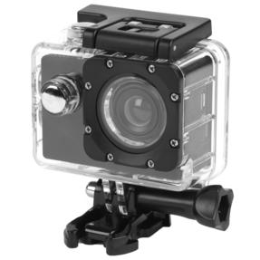 Intempo EE2233STKEU Sync Waterproof Wide Angle IPX8 Action Camera with Self Timer Function, 50/60 Hz Video Output, 1080 P HD Video Resolution with USB Charging Cable