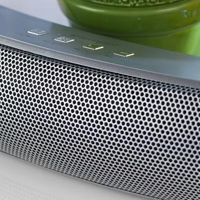 Intempo EE1736EMGSTKEU Curved Bluetooth Metallic Speaker, Silver Thumbnail 4