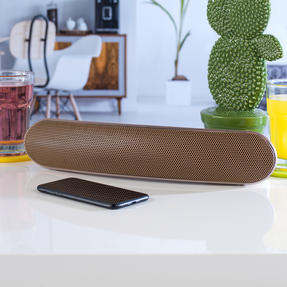 Intempo EE1736ERGSTKEU Curved Bluetooth Metallic Speaker, Rose Gold Thumbnail 2