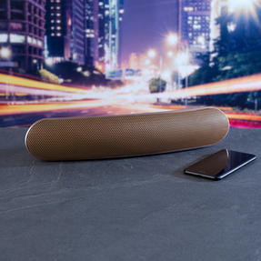 Intempo EE1736ERGSTKEU Curved Bluetooth Metallic Speaker, Rose Gold Thumbnail 5