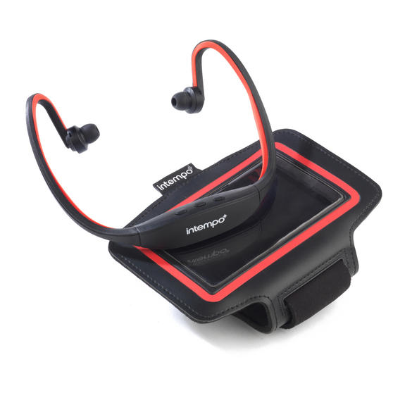 Intempo Bluetooth Running/Exercise Headphones and Phone Strap
